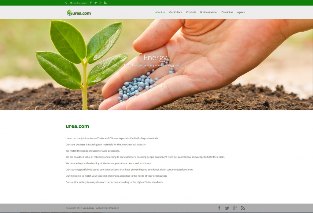 UREA web design