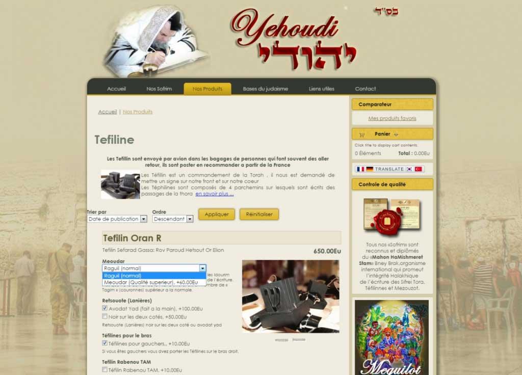 yehoudi web design
