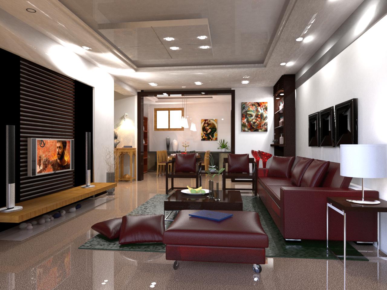Architectural 3D Visualization   Parnassel