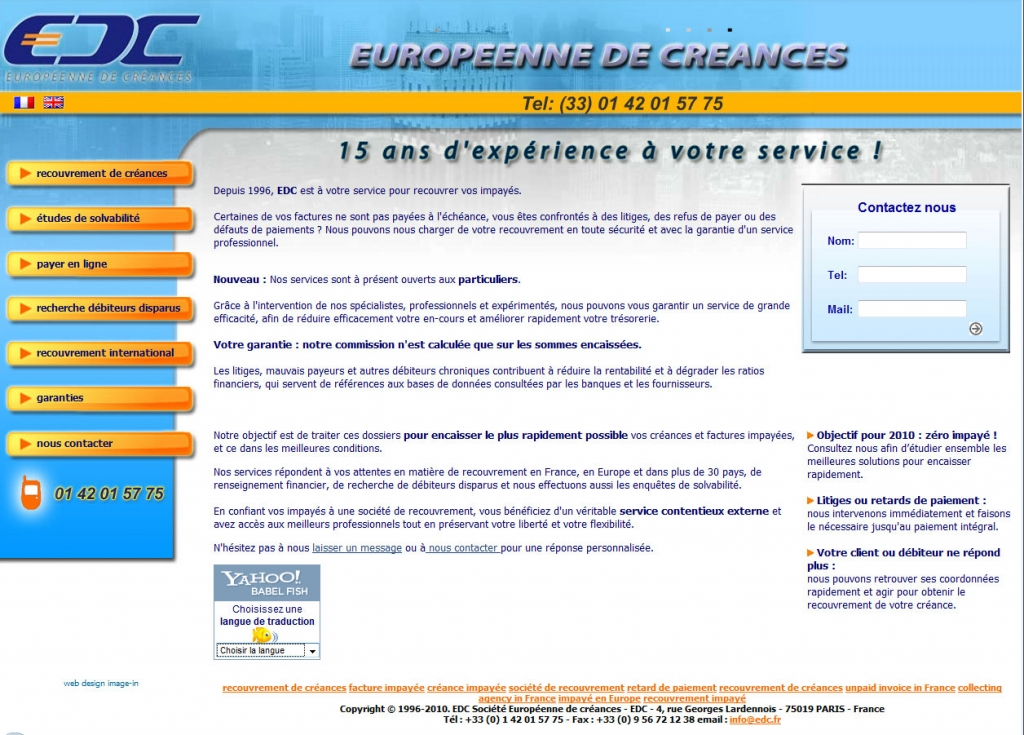 Europeene de creance