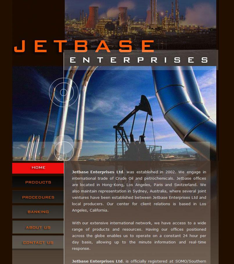Jetbase web design