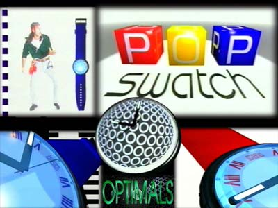 Swatch 3D animation