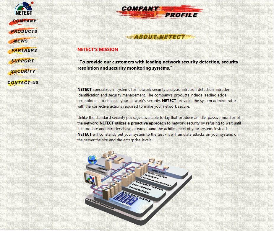 Netect web design