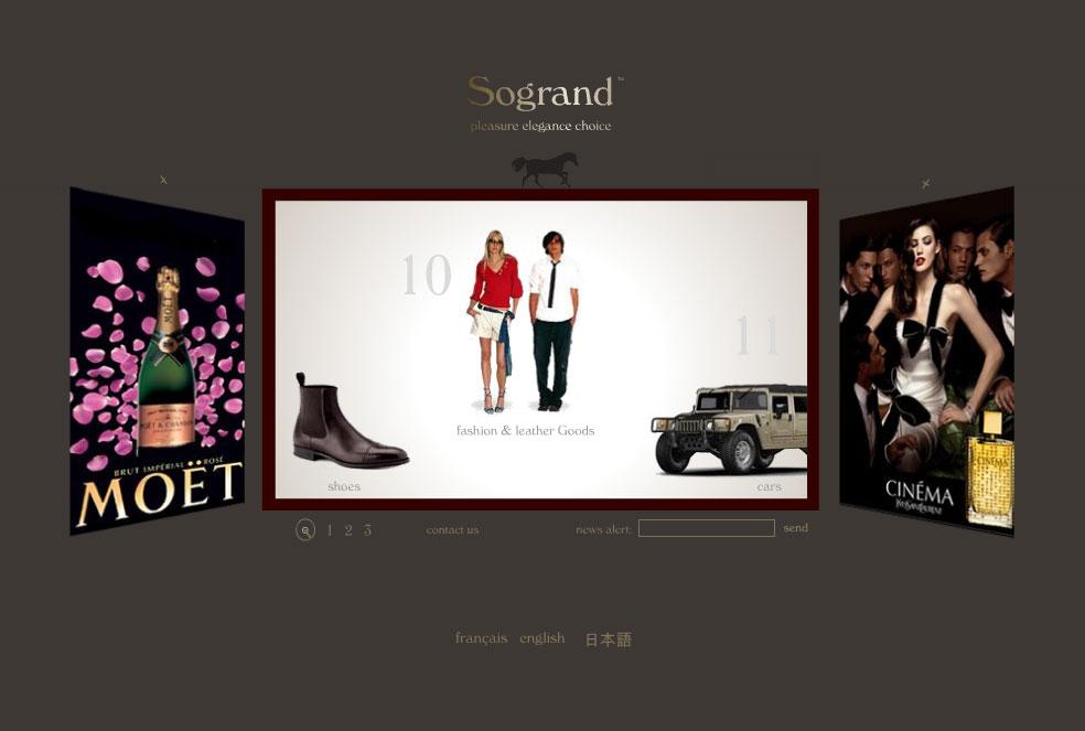 So Grand Web design