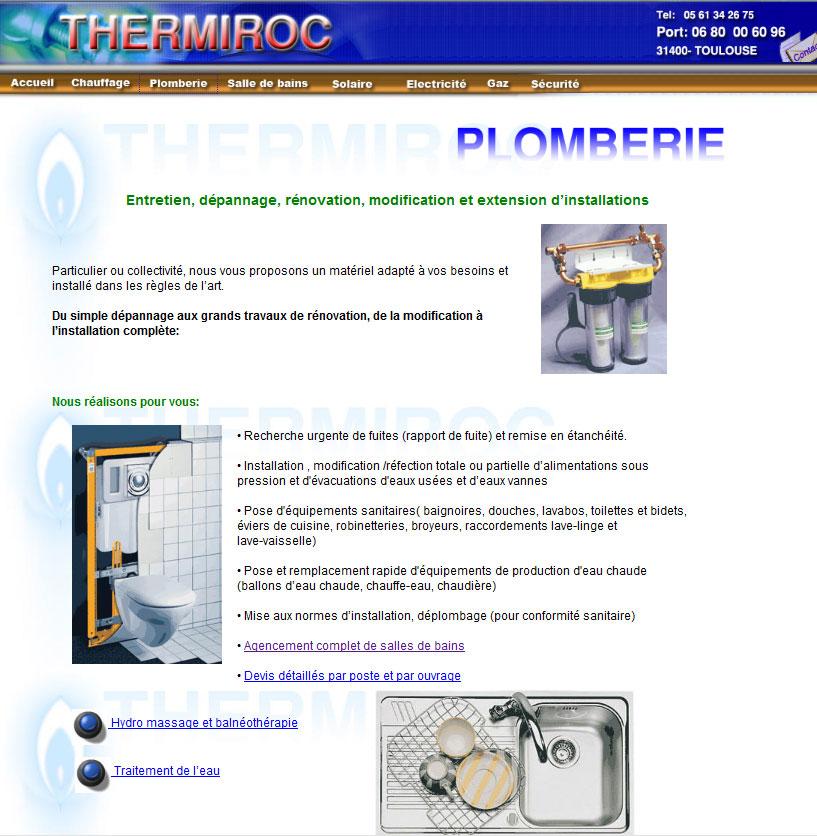 Plumbery web design