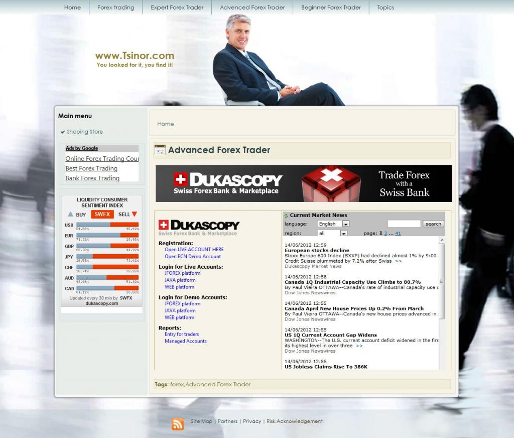 Tsinor web marketing