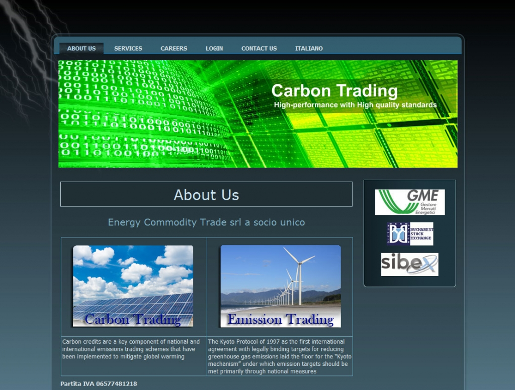 ec-trade website design