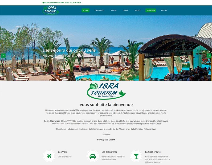 Web Agence de voyage