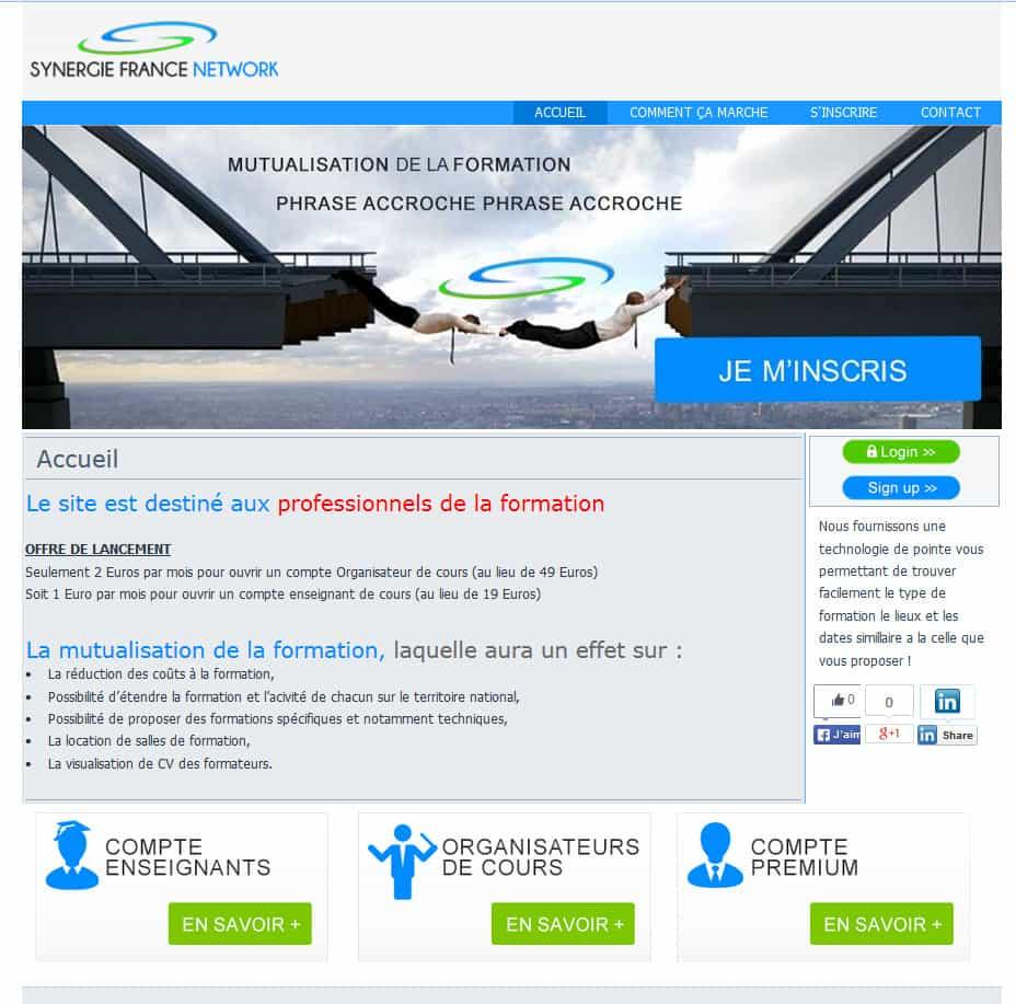 syfrance Mutual web development